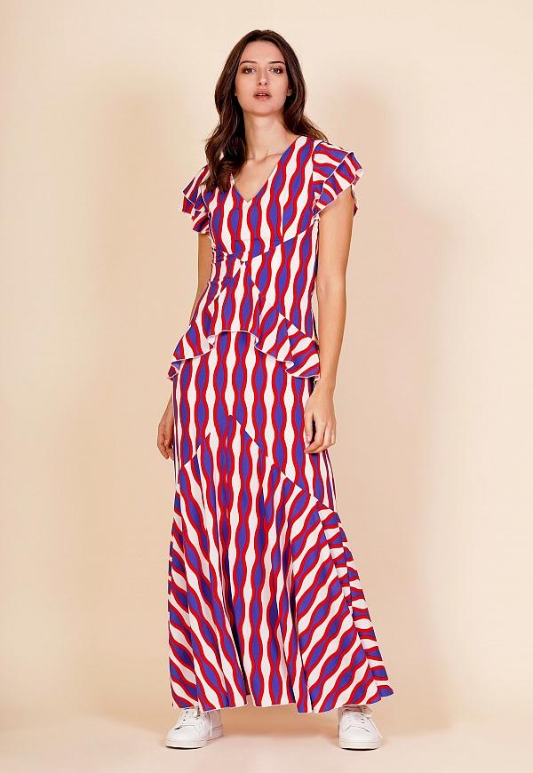LONG MARIA DRESS - 4390