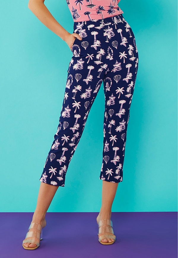 PALM TROUSERS - 4585