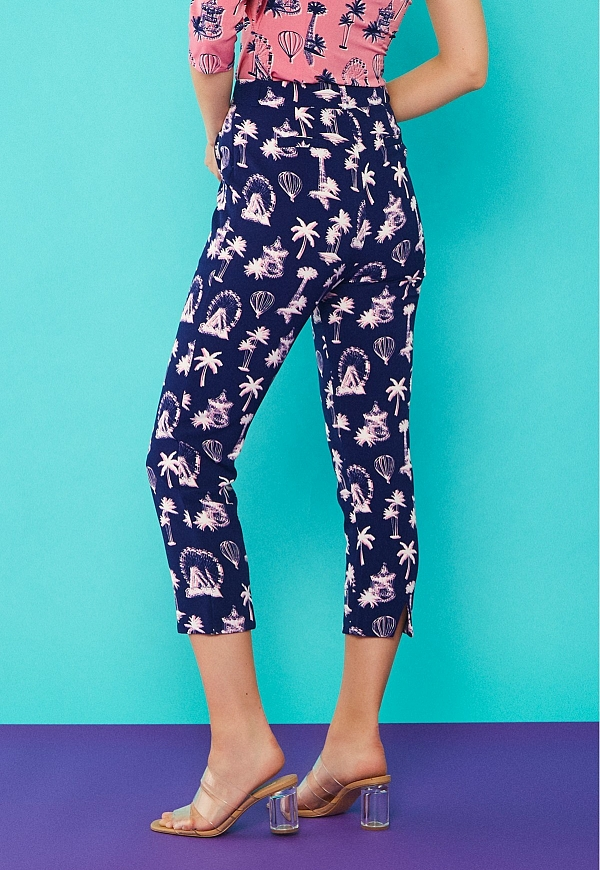 PALM TROUSERS - 4587