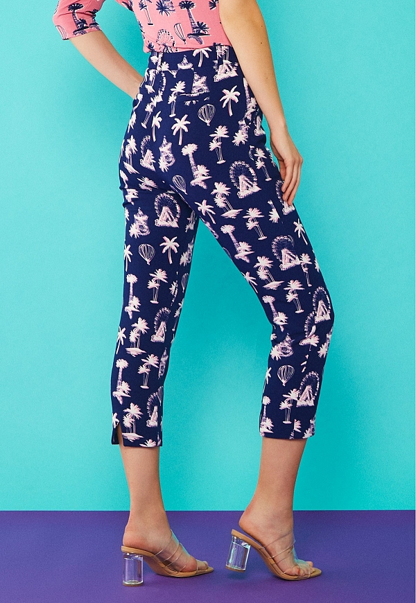 PALM TROUSERS - 4588