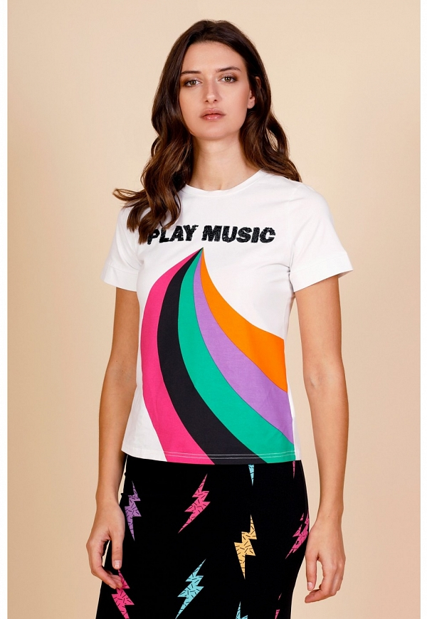PLAY MUSIC T-SHIRT - 4305