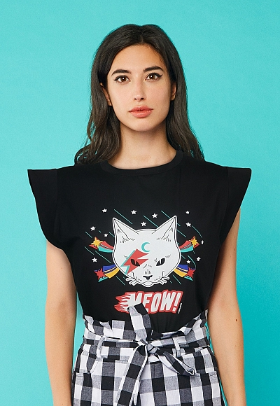 ROCK CAT T-SHIRT