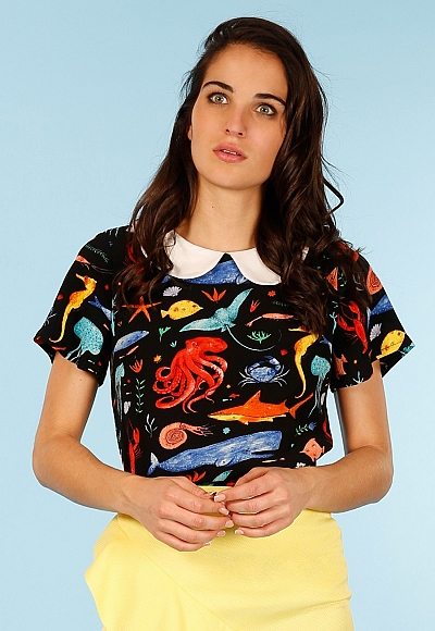 SEA ANIMAL TOP