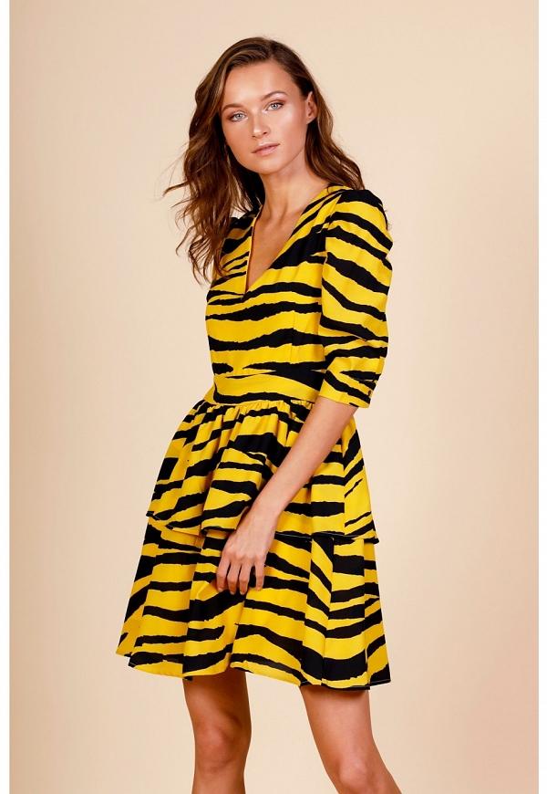 TIGER DRESS - 4368