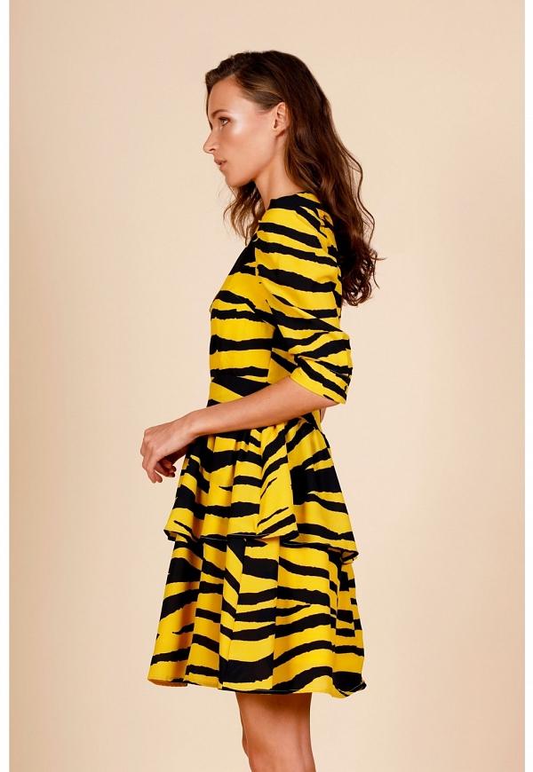 TIGER DRESS - 4371