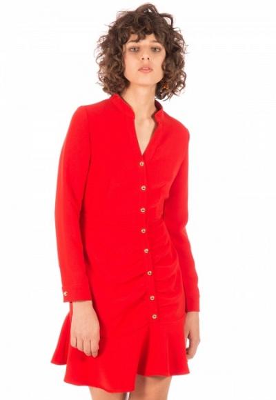 Vestido red dress
