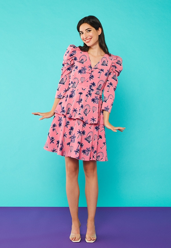 YANA DRESS - 4596